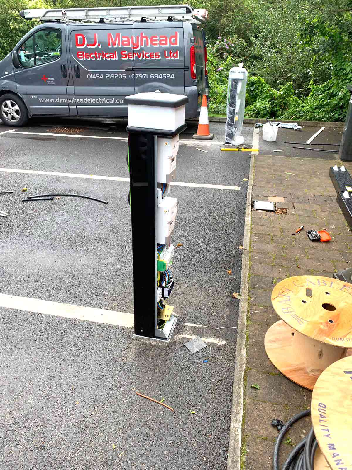Car Charging Point Installation By DJ Mayhead Electrical of South Gloucestershire